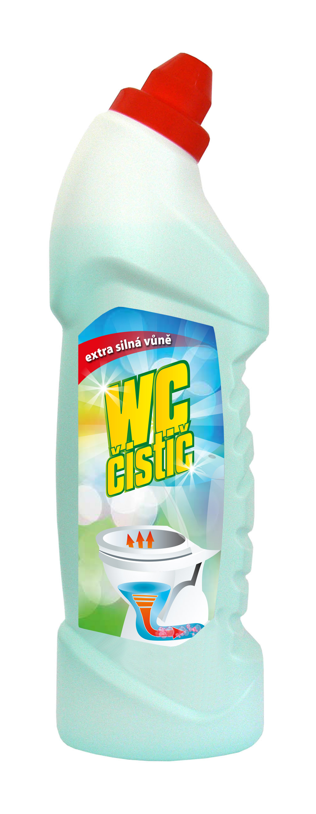WC čistič Duha 750 ml