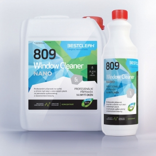 Bestclean 809 Window Clean nano koncentrát 5 L