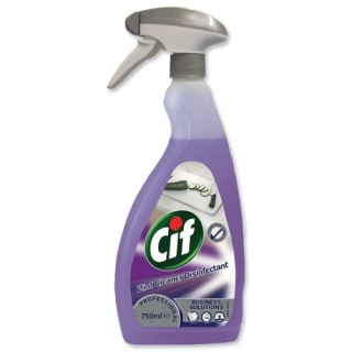 Cif Professional 2v1 Cleaner Disinfectant 750 ml